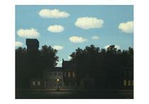 R.Magritte, Empire des lumières, 1950