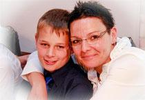 Melanie Klink & Sohn Philipp Klink