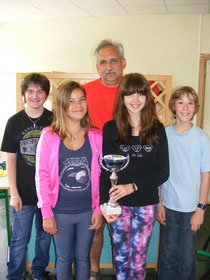 Vainqueur catégorie section jeunes : RECHESY