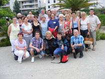 La délégation franc-comtoise à Mandelieu