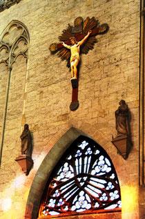 Le calvaire du transept nord