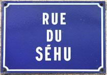 Plaque de Rue à Saint-Sauflieu