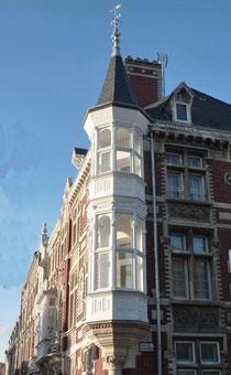 A l'angle de la Chaussée Jules Ferry avec la rue de Londres