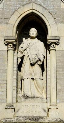 Statue de Saint-Charles Borromée