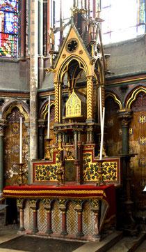 Autel de la chapelle Sainte-Theudosie