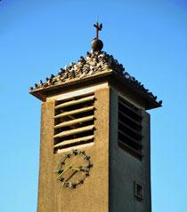 Clocher de l'église de Voyennes