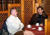 С Павлом Тужиком в Радомышле