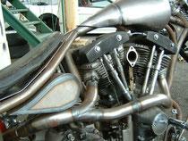 憧れのバイクを製作