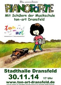 Plakat Pianoforte