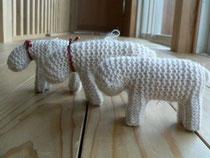 編みぐるみ 中身もすべて羊毛の100%羊毛の羊