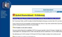 Kabel Deutschland - Erfahrung