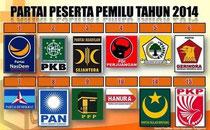 Parteien Indonesien 2014