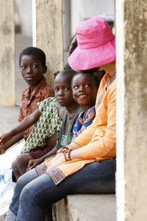 Visite d'école, Togo - Pascal Deloche