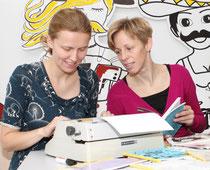 Stefanie Grünangerl und Elke Zobl (Foto: Pia Streicher)