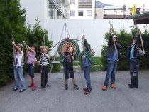 Bogenbau für Kinder