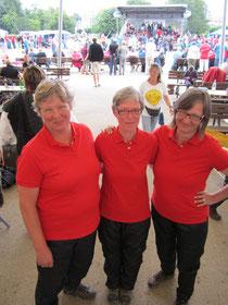 Trave 2012 Triplette Irmi Kamp, Burga Schumacher und Lise Kamrad