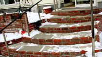 階段・雪・氷用マット