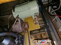タイヨー5k発電機、補機24vダイナモ