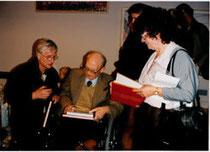 Van Genk avec Nico Van der Endt et Jeanine Rivais