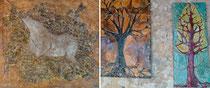 """""""Futur fossile"""" et arbres/vitraux"""
