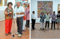 Présentation de l'Art singulier au Musée du Village, puis au Musée des Paysans, à Bucarest