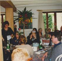 Jeanine Rivais pendant son allocution
