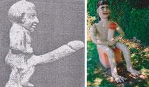 le dieu bes et autoportrait de martial besse