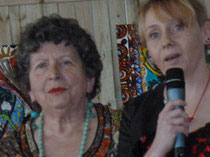 Jeanine Rivais et Catherine Henri