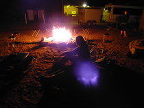 3 Nächte schlafen im Swag am Lagerfeuer