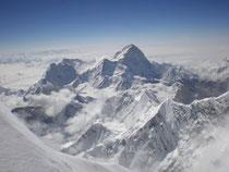 Col sud de Everest, Khumbu, Nepal