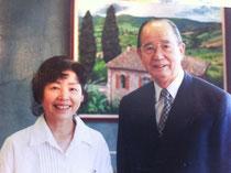 奥山 実先生と当教会の主任牧師・渡邊ミドリ