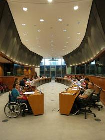 Beim Treffen mit MEP Evelyn Regnet
