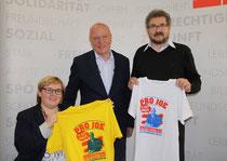 Ich, Josef Weidenholzer und Hans Gruber
