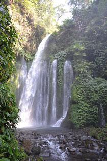 The second waterfall - Air Terjun Tiu Kelep