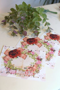 CERCA Mother's Day プレゼントカード画像