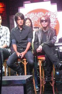 公演直前の記者会見(Club Mayan 2011年8月31日)
