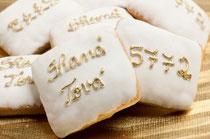 ローシュ・ハッシャーナーを祝うお菓子