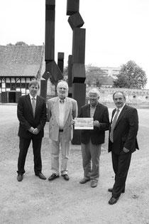 Peter Pinkernelle, Christof Hallegger, Ludwig Hofmann und Werner Reinhardt (v.l.)