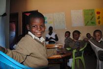 Die Miro-Kinder erhalten dank der Spenden eine gute Schulbildung.