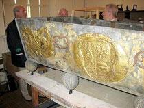 Sarkophag der Herzogin Sophie Amelie Kettler