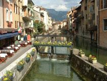 La vieille ville d'Annecy