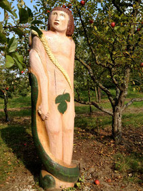 Adam und Eva, Schaugarten, Buchschwabach