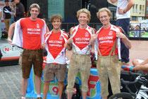 Mit Platz zwei beim Altstadtrennen in Nürnberg haben die Triathleten des TV Memmingen die Bayernligasaison beendet und sicherten sich den Aufstieg in die Regionalliga. In Nürnberg schickte der TVM (vo