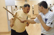 GrandMaster Bill Newman while teaching