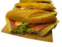 Bäckerei Weißbach Frühstück + Snack Auswahl - Foto: © Devant Design
