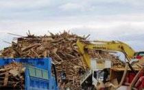 災害廃棄物仮置場(熊本県資料より)