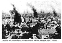 La Setmana Tràgica de Barcelona, 1909