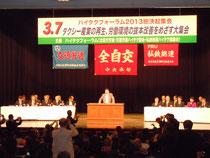 2013年3月のハイタクフォーラム総決起集会