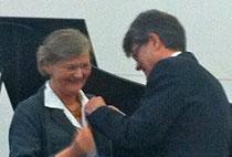 Sabine Denkwitz & Generalkonsul Jean-Claude Tribolet