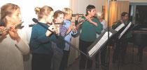 Nachwuchsförderung für das Nordische Querflötenorchester